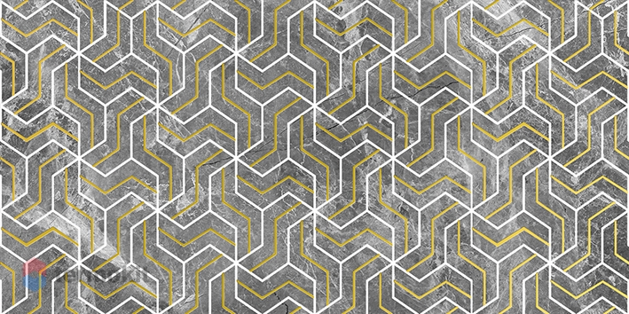 Керамический декор Laparet Crystal Fractal серый 30х60 см керамический декор laparet genesis fractal бежевый 30х60 см
