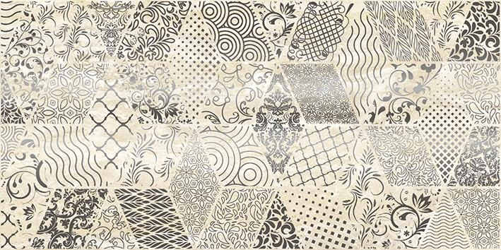 Керамический декор Laparet Echo Bomond бежевый 30х60 см