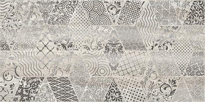 Керамический декор Laparet Echo Bomond серый 30х60 см керамический декор laparet genesis fractal коричневый 30х60 см