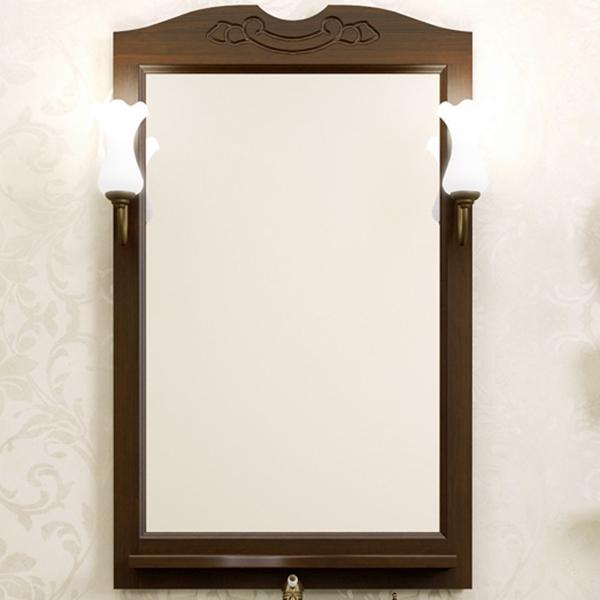 Зеркало Opadiris Клио 65 Z0000004272 Орех антикварный зеркало в деревянной раме opadiris клио 65 антикварный орех для светильников 00000001041 z0000001408 z0000004272