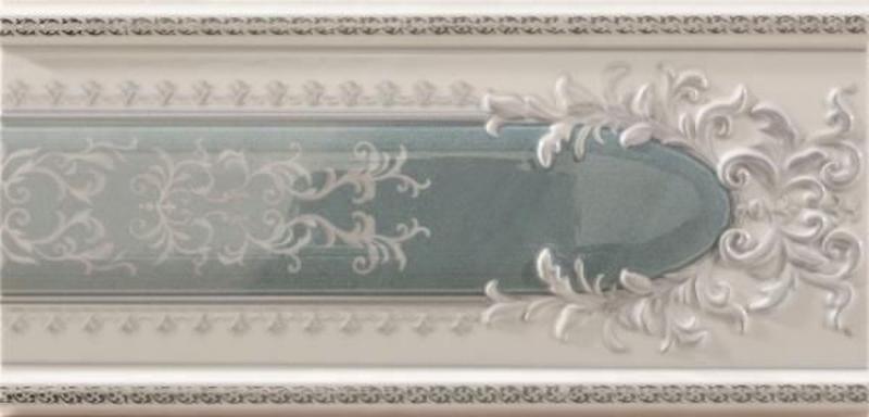 Керамический бордюр Ceracasa Absolute Classic Cenefa Ice/Jungle 2 12х25 см керамический бордюр undefasa embassy zocalo beige 12х25 см