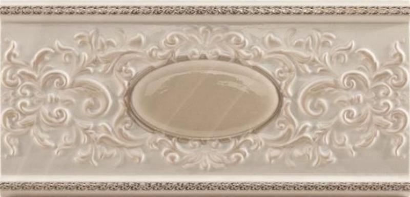 Керамический бордюр Ceracasa Absolute Classic Cenefa Sand/Vision 1 12х25 см керамический бордюр mayolica versailles cenefa 10х28 см