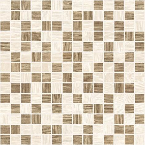 Керамическая мозаика Laparet Genesis темно-бежевый+бежевый 30х30 см