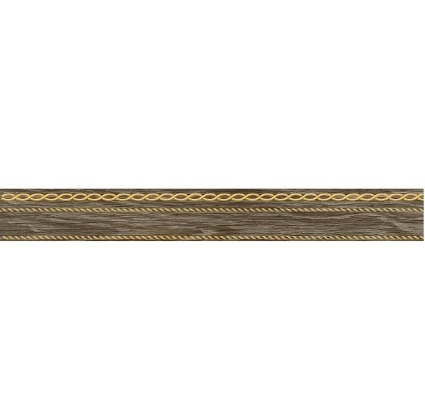 Керамический бордюр Laparet Genesis коричневый 6х60 см стоимость