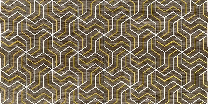 Керамический декор Laparet Genesis Fractal коричневый 30х60 см керамический декор laparet genesis fractal бежевый 30х60 см