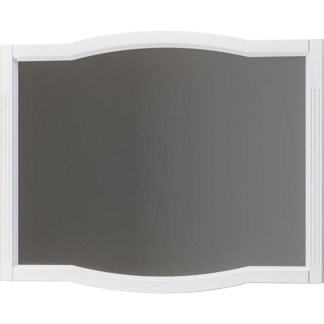 Зеркало Opadiris Лаура 100 Z0000012819 Белое матовое