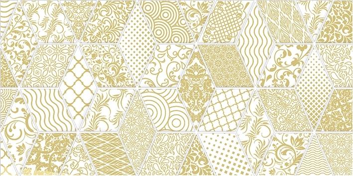 Керамический декор Laparet Tabu Bomond белый 30х60 см