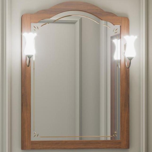 Зеркало Opadiris Лоренцо 80 Z0000006756 Светлый орех зеркало opadiris лоренцо 80 светлый орех