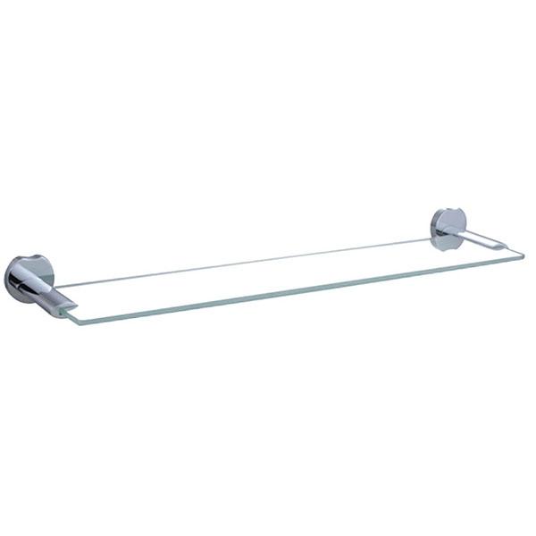 Полка для полотенец Raiber R53911 Хром стеклянная полка raiber r50117 хром