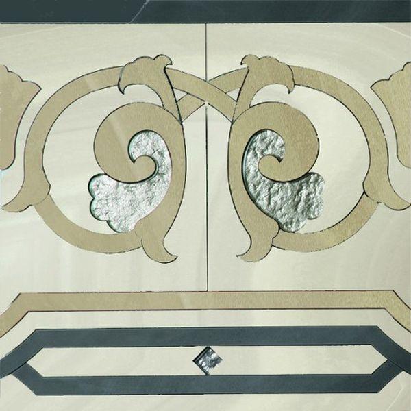 Керамический декор Ceracasa Absolute Deco 2 Lineal Rect 49,1х49,1 см керамический декор gayafores boldstone brickbold deco ocre 8 15х33 15 см