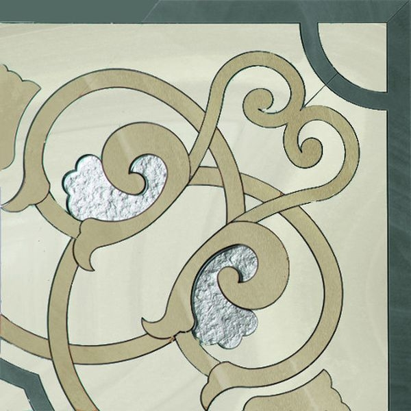 Керамический декор Ceracasa Absolute Deco 2 Angulo Rect 49,1х49,1 см керамический декор gayafores boldstone brickbold deco ocre 8 15х33 15 см