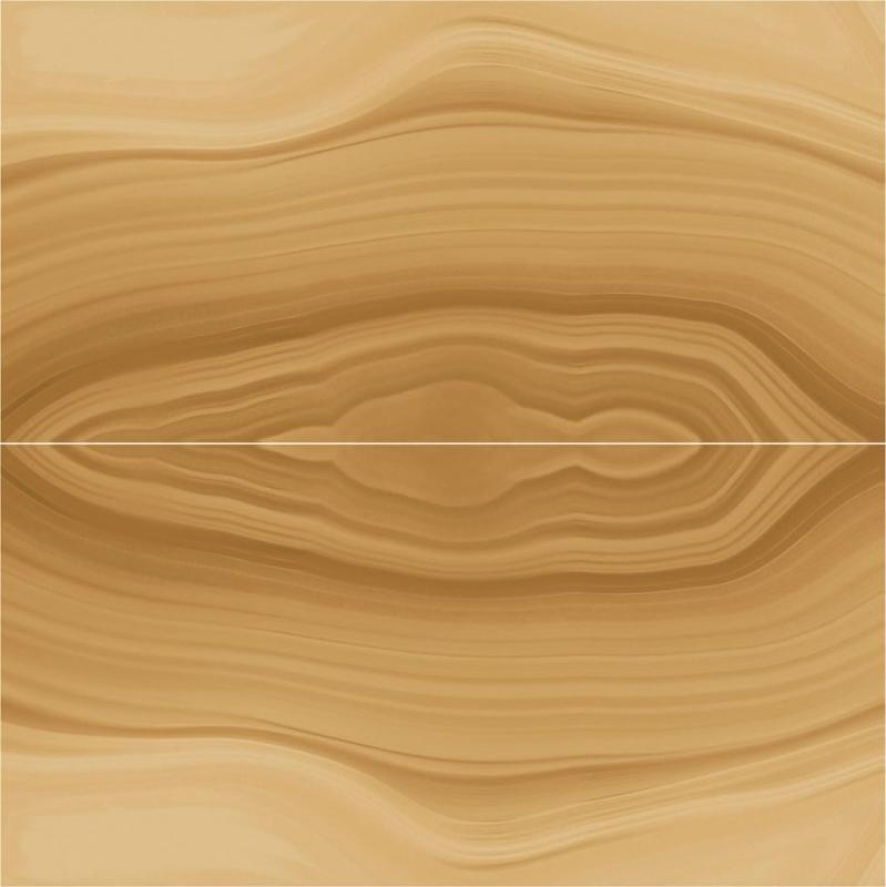 Керамогранит Ceracasa Absolute Deco Symmetry 2pz Ambar 98,2х98,2 см