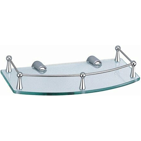Стеклянная полка WasserKRAFT K-588 Хром полка для ванной комнаты wasserkraft k 588