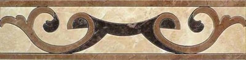 Керамический бордюр Ceracasa Dorian Cenefa 1 Pulido 9,5х38,8 см