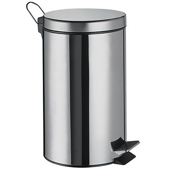 Ведро мусорное WasserKRAFT K-635 5 л Хром мусорное ведро 5 л raiber rhb302