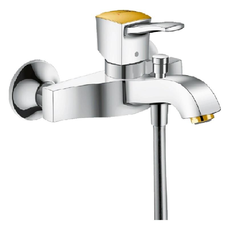 Смеситель для ванны Hansgrohe Metropol Classic 31340090 Хром Золото смеситель для ванны и душа hansgrohe metropol 74540000 хром