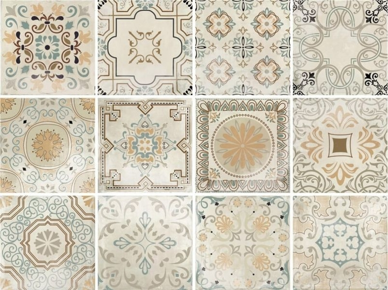 Керамический декор Monopole Ceramica Avenue Decor Vintage 18,7х18,7 см