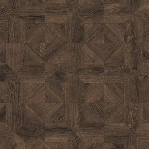 Ламинат Quick Step Impressive Patterns Дуб кофейный брашированный IPA4145 1200х396х8 мм