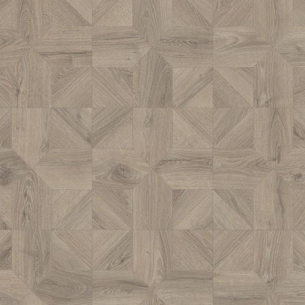 Ламинат Quick Step Impressive Patterns Дуб серый теплый брашированный IPA4141 1200х396х8 мм