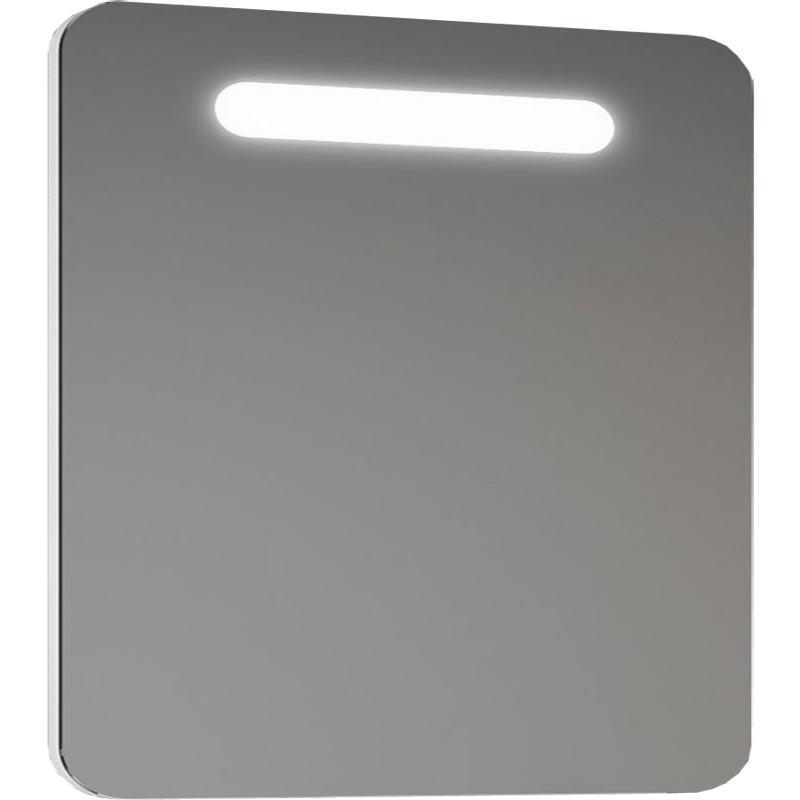 Зеркало Smile Арабеско 70 с подсветкой с кнопочным выключателем с розеткой fossil es2830