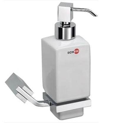 Дозатор для жидкого мыла Schein Watteau 122DS-R Хром, Белый дозатор для жидкого мыла schein watteau 122d r хром белый