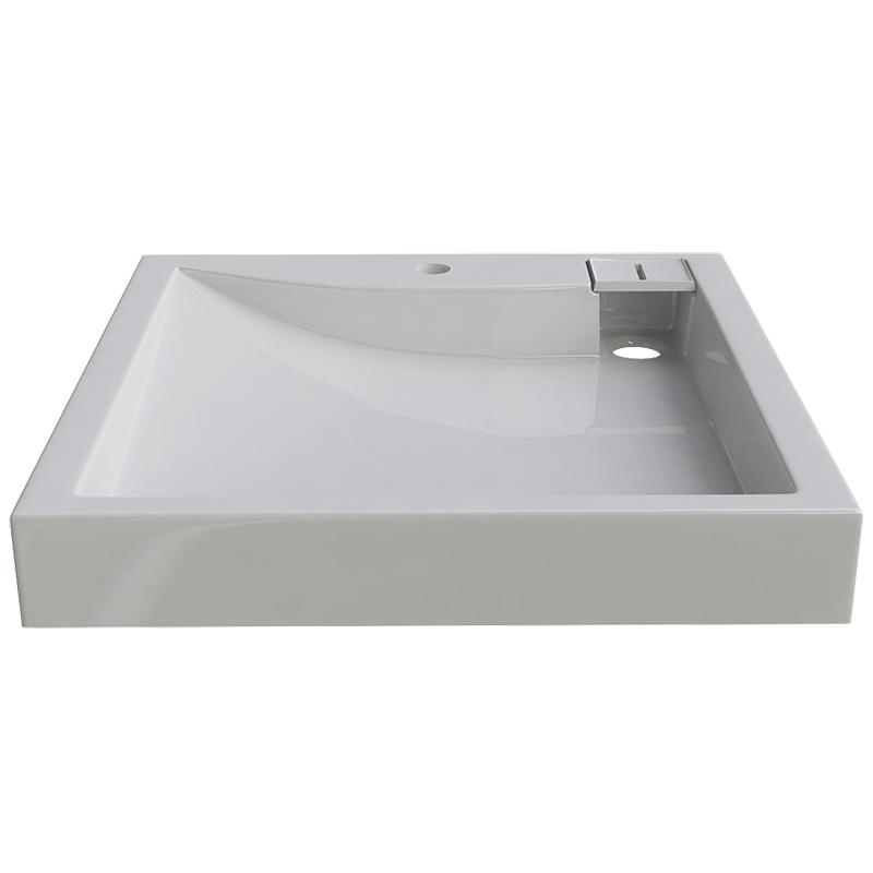 Раковина Altasan Lux 60x60 UPP60LUXсб на стиральную машину Белая