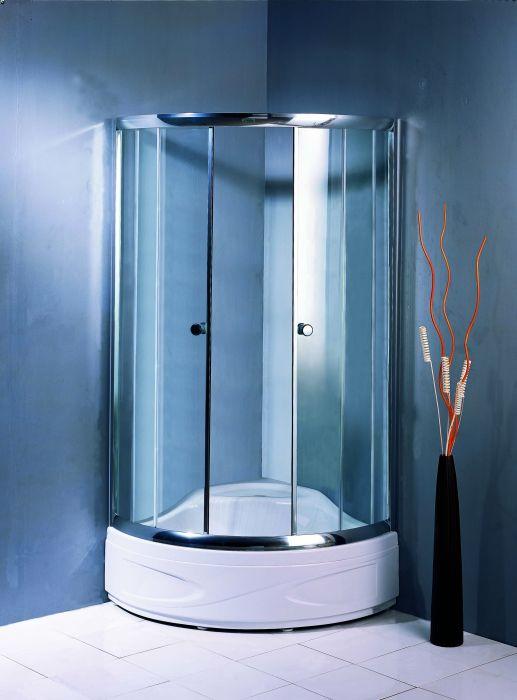 TS-173 стекло прозрачноеДушевые ограждения<br>Душевой уголок Appollo TS-173. В комплект входят: душевое ограждение из закаленного безопасного  прозрачного стекла толщиной 5 мм, две стеклянных двери, механизм открывания распашной, регулируемая боковая колонна, удобные хромированные ручки, алюминиевый полированный профиль,акриловый поддон ,сифон. Все остальное приобретается дополнительно.<br>