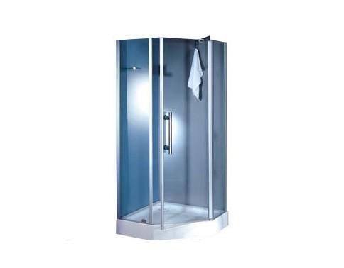 TS-6339 стекло прозрачноеДушевые ограждения<br>Душевой уголок Appollo TS-6339. В комплект входят: душевое ограждение из закаленного безопасного  прозрачного стекла толщиной 6 мм, стеклянная полочка, стеклянные створки дверей, механизм открывания распашной, акриловый поддон, удобная хромированная ручка, алюминиевый полированный профиль, сифон. Все остальное приобретается дополнительно.<br>
