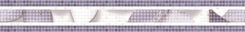 Керамический бордюр Alma Ceramica Nicole BWU53NCL003 6,7х50 см