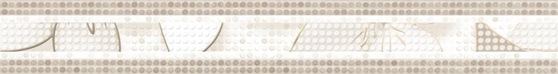 Керамический бордюр Alma Ceramica Nicole BWU53NCL004 6,7х50 см