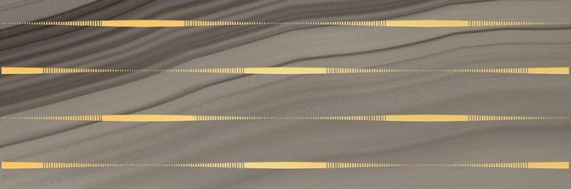 Керамический декор Laparet Agat Lines кофейный 20х60 см