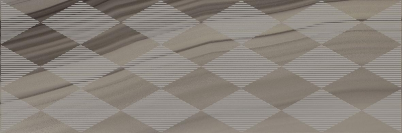 Керамический декор Laparet Agat Geo кофейный 20х60 см керамический декор laparet agat geo серый 20х60 см
