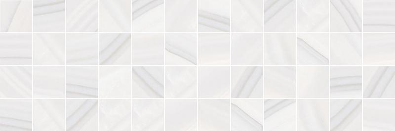 Керамический декор Laparet Agat мозаичный светлый MM60083 20х60 см керамический декор laparet agat geo серый 20х60 см