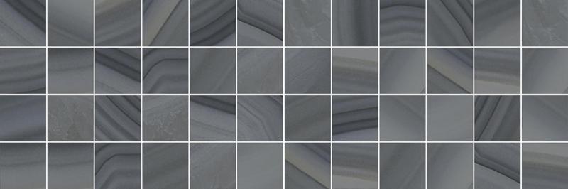 Керамический декор Laparet Agat мозаичный серый MM60085 20х60 см цена