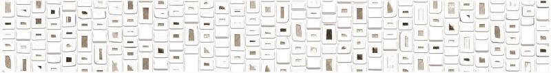 Керамический бордюр Alma Ceramica Poleo BWU53PLO004 6,7х50 см керамический бордюр alma ceramica nicole bwu53ncl003 6 7х50 см