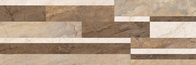 Керамическая плитка Laparet Royal микс бежевый 60087 настенная 20х60 см цена