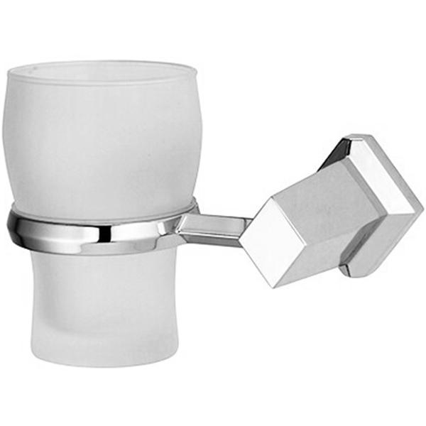Стакан для зубных щеток WasserKRAFT Aller K-1128 Хром стакан для зубных щеток wasserkraft k 5028white