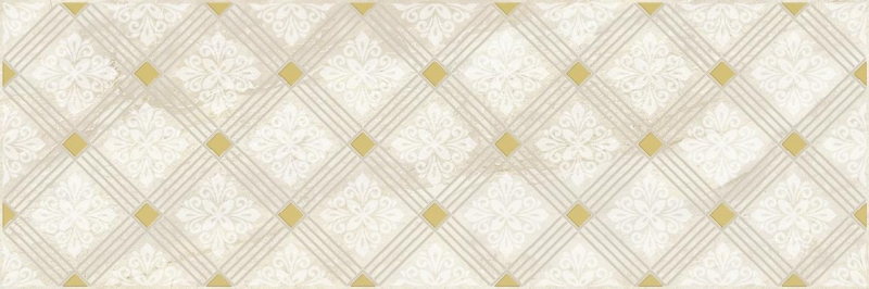 Керамический декор Laparet Royal бежевый 20х60 см