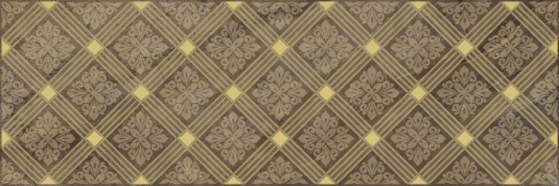 Керамический декор Laparet Royal коричневый 20х60 см керамический декор laparet agat geo серый 20х60 см
