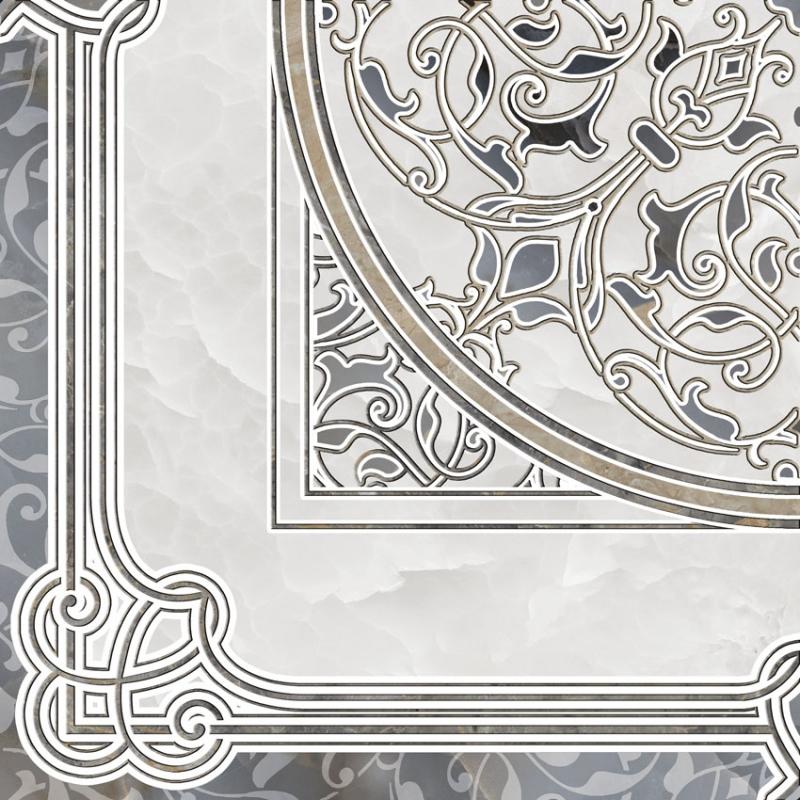 Керамический декор Alma Ceramica Demetra DFU03DMT024 41,8х41,8 см
