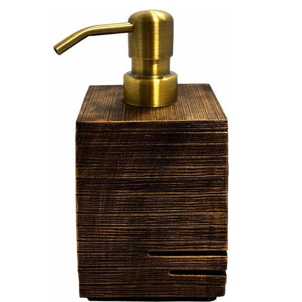 Фото - Дозатор для жидкого мыла Ridder Brick 22150548 Бронза дозатор для жидкого мыла paulmark rein бронза d002 br