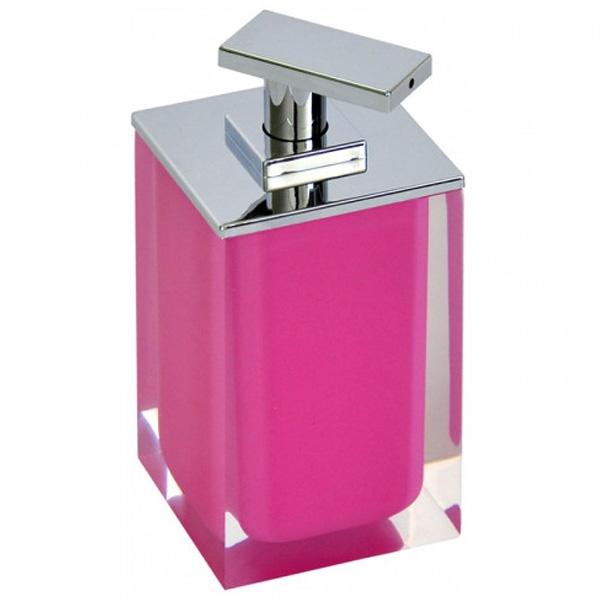 Дозатор для жидкого мыла Ridder Colours 22280502 Розовый дозатор для жидкого мыла ridder swing 22300515 синий