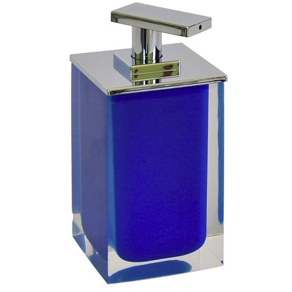 Дозатор для жидкого мыла Ridder Colours 22280503 Синий дозатор для жидкого мыла ridder swing 22300515 синий