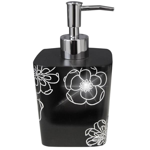 Фото - Дозатор для жидкого мыла Ridder Diamond 22160510 Черный дозатор для жидкого мыла ridder paris 22250510 черный