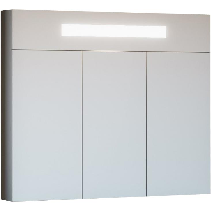 Зеркальный шкаф Opadiris Кристалл 90 Z0000010381 с подсветкой с кнопочным выключателем фото