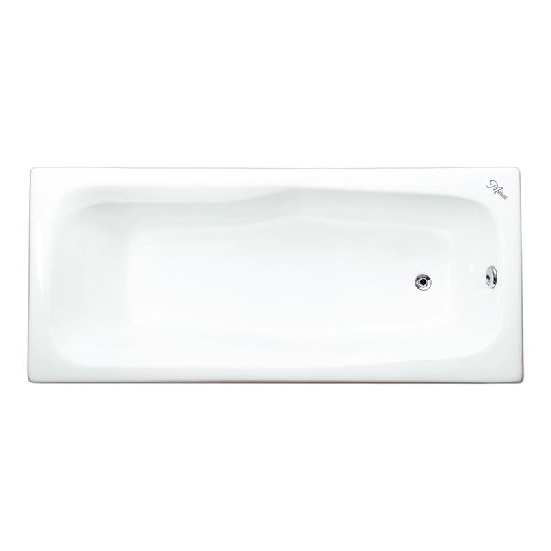 Чугунная ванна Maroni Giordano 180x80 с антискользящим покрытием чугунная ванна maroni colombo 150x75 с антискользящим покрытием