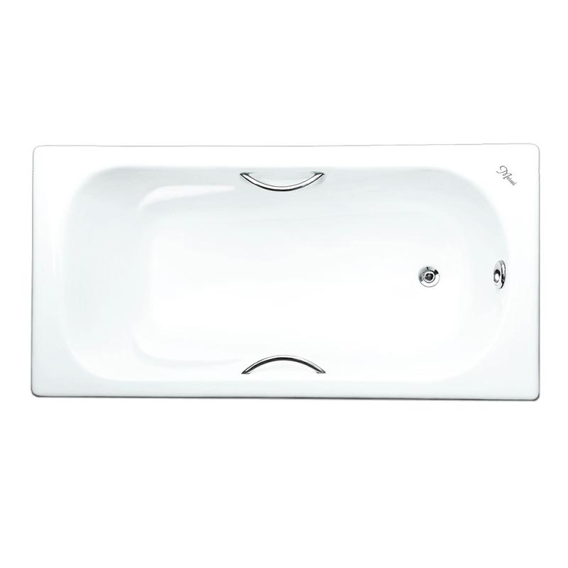 Чугунная ванна Maroni Colombo 170x75 с ручками с антискользящим покрытием чугунная ванна maroni colombo 150x75 с антискользящим покрытием