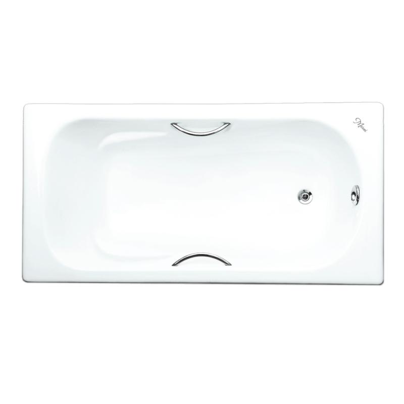 Чугунная ванна Maroni Colombo 150x75 с ручками с антискользящим покрытием чугунная ванна maroni colombo 150x75 с антискользящим покрытием