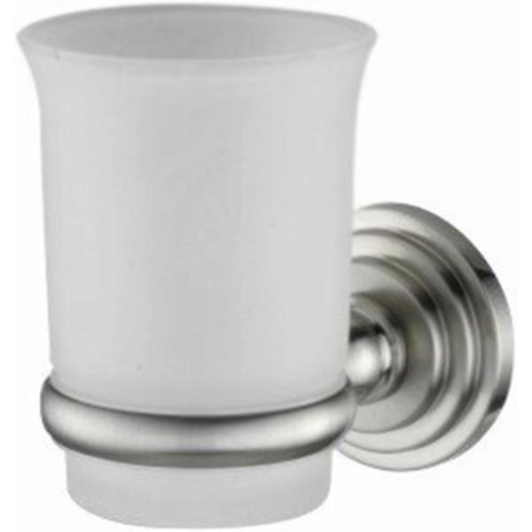 Стакан для зубных щеток WasserKRAFT Ammer K-7028 Хром матовый