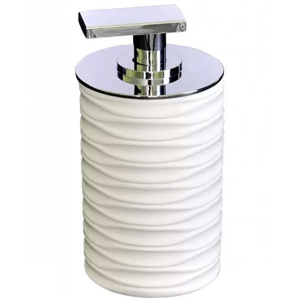 Дозатор для жидкого мыла Ridder Swing 22300501 Белый дозатор для жидкого мыла ridder swing 22300515 синий